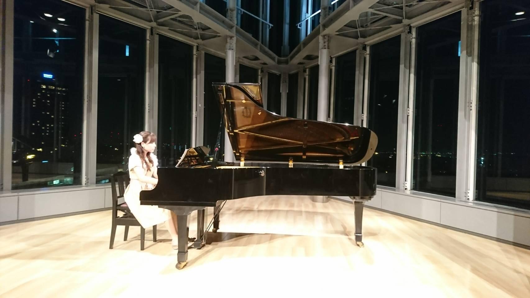 ピアノ演奏「月の光」
