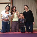 和歌山からヨガの先生が受けにきてくれました