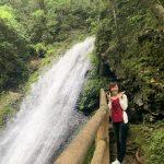 丹生川上神社上社と滝