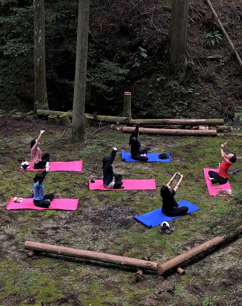 吉野森林ヨガと滝瞑想ツアーPart2